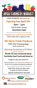 Apex Farmers Market Opening Day