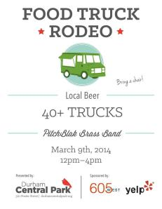 Durham Central Park - March 9th Rodeo