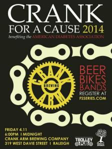 Crank for a Cause 2014