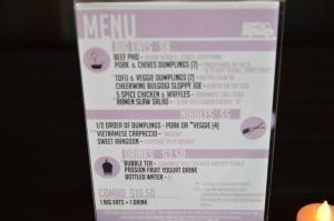 DPKT Menu - Food Truck