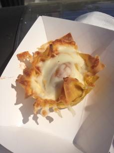 Gourmet Goombahs - Lasagna Cupcake