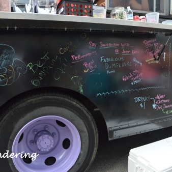 Love the Love Wall on the truck
