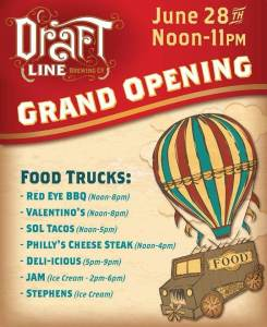 draft line grand opening