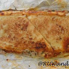 Meatball Grilled Cheese w/ Mom's Italian