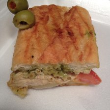 Roasted Chicken: Herb Roasted Chicken, Provolone on a Baguette