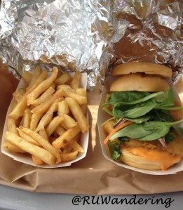 The first visit to MANNA, Fried Fish Sliders and Fries