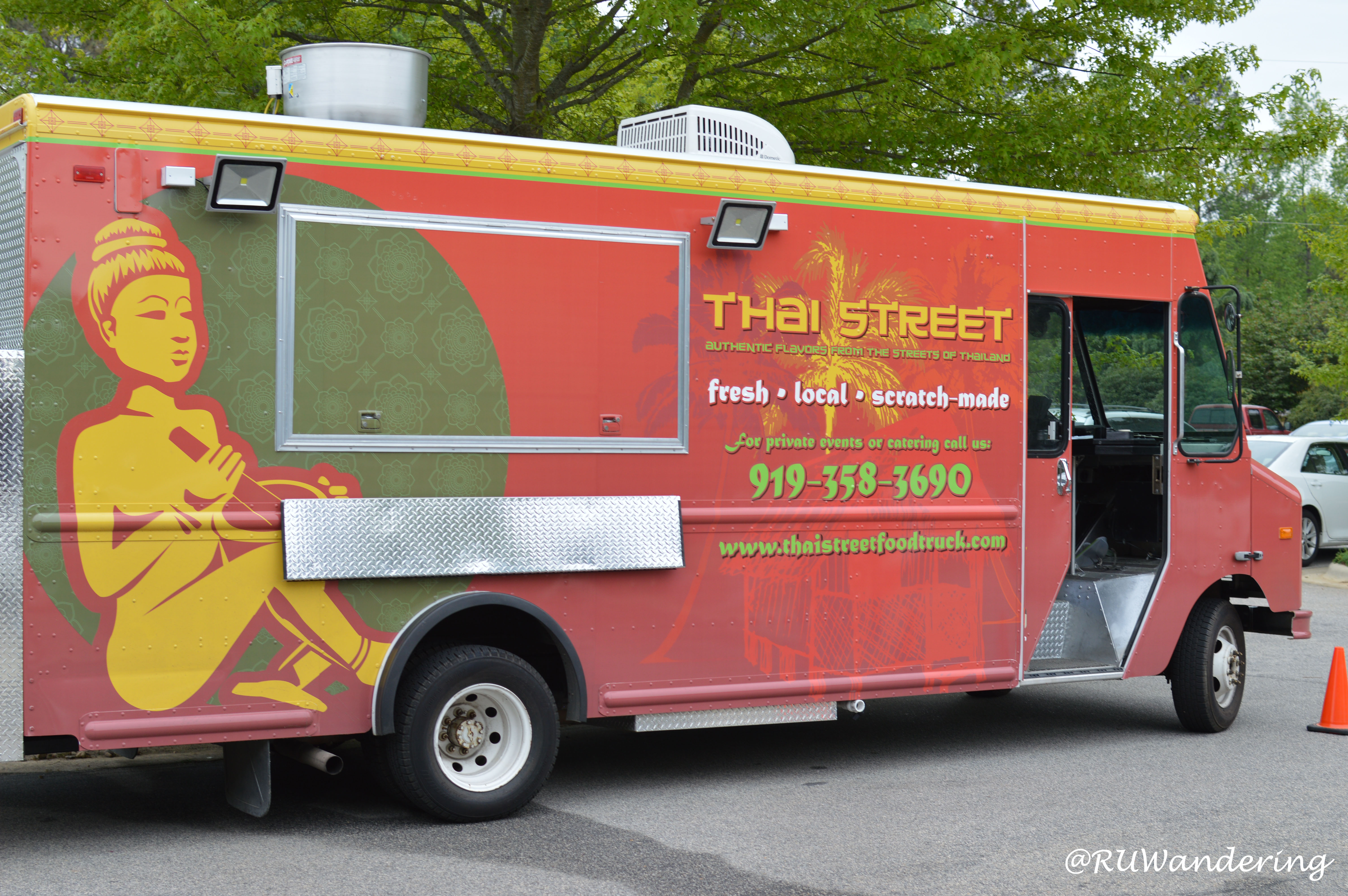 Thai Street Food Truck Raleigh