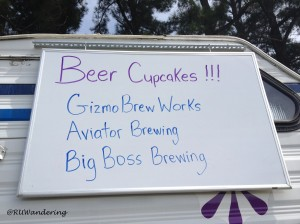 Cupcakes by Not Just Icing featuring Triangle craft beer and cider