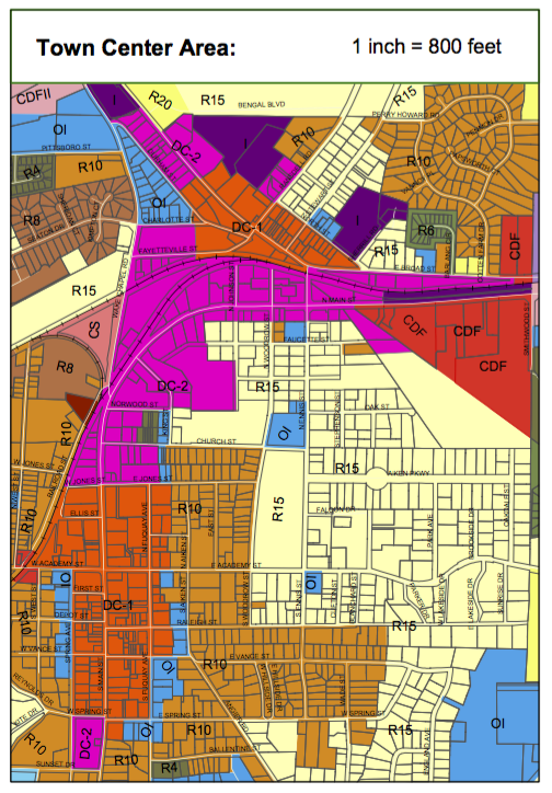 FV Zoning Map – Town Center – The Wandering Sheppard