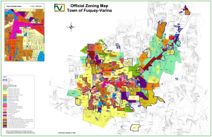 Fuquay-Varina's Zoning Map (2014)